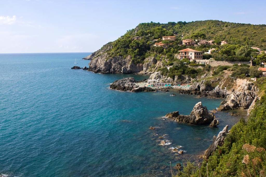 Talamone, Toscana - Vista Dal Promontorio Della Rocca Senese